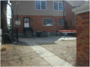 St. Louis Hills backyard clean slate 2