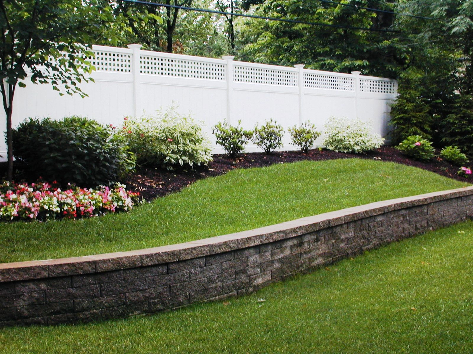 Front Landscaping Retaining Wall